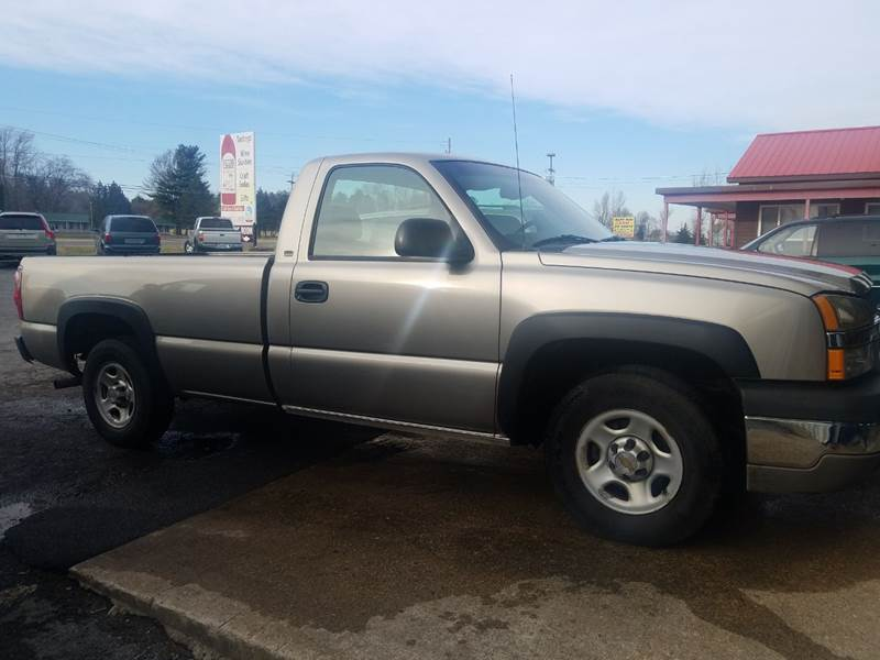 2003 Chevrolet Silverado 1500 for sale at Alex Bay Rental Car and Truck Sales in Alexandria Bay NY