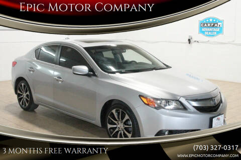 2013 Acura ILX for sale at Epic Motor Company in Chantilly VA
