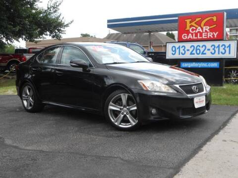 2011 Lexus IS 250 for sale at KC Car Gallery in Kansas City KS