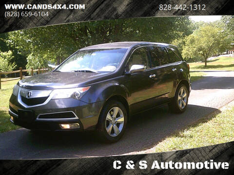 2010 Acura MDX for sale at C & S Automotive in Nebo NC