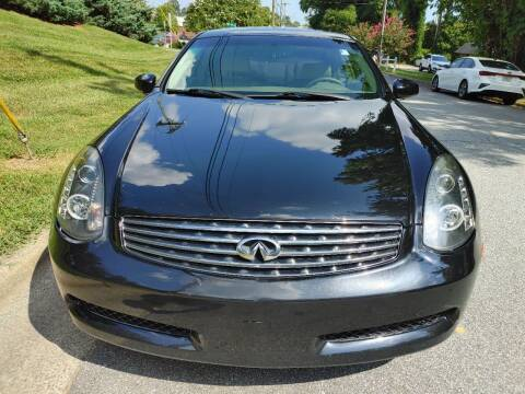 2006 Infiniti G35 for sale at IMPORT AUTO SOLUTIONS, INC. in Greensboro NC