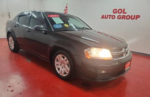 2014 Dodge Avenger for sale at GOL Auto Group in Austin TX