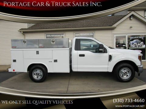 2018 Ford F-350 Super Duty for sale at Portage Car & Truck Sales Inc. in Akron OH