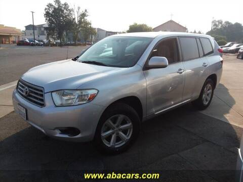 2008 Toyota Highlander for sale at About New Auto Sales in Lincoln CA
