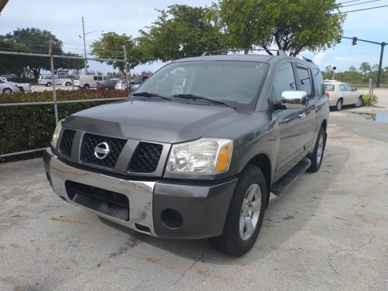 2004 Nissan Armada for sale at LAND & SEA BROKERS INC in Pompano Beach FL