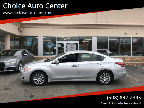 2014 Nissan Altima for sale at Choice Auto Center in Shrewsbury MA