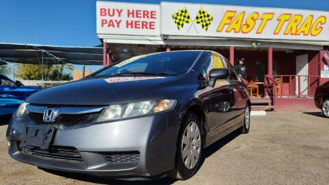 2010 Honda Civic for sale at Fast Trac Auto Sales in Phoenix AZ
