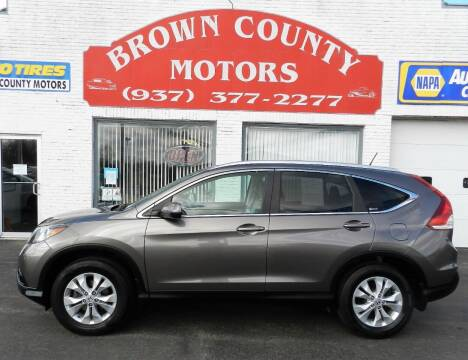 2012 Honda CR-V for sale at Brown County Motors in Russellville OH