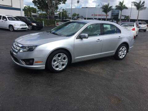 2011 Ford Fusion for sale at CAR-RIGHT AUTO SALES INC in Naples FL