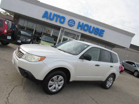 2009 Subaru Forester for sale at Auto House Motors in Downers Grove IL