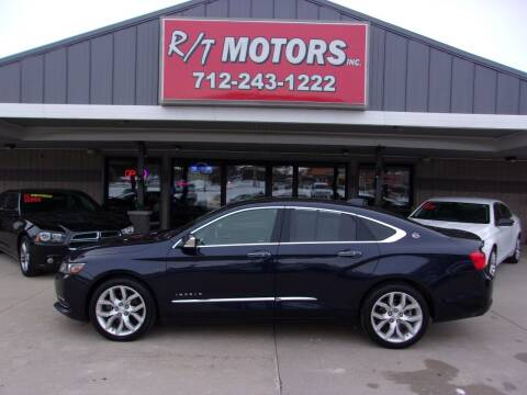 2016 Chevrolet Impala for sale at RT Motors Inc in Atlantic IA