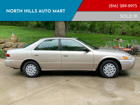 1998 Toyota Camry for sale at NORTH HILLS AUTO MART in Kansas City MO