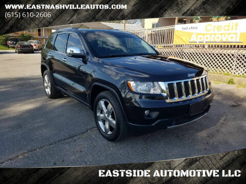 2012 Jeep Grand Cherokee for sale at EASTSIDE AUTOMOTIVE LLC in Nashville TN