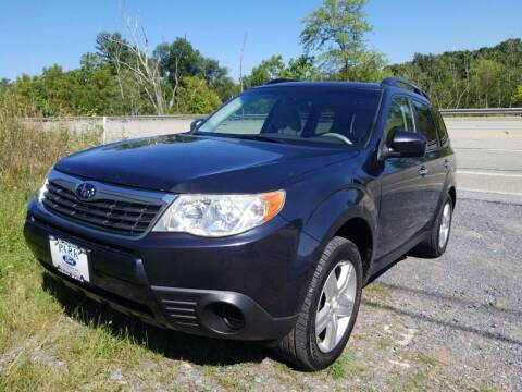 2010 Subaru Forester for sale at Mackeys Autobarn in Bedford PA