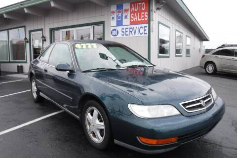 1997 Acura CL for sale at 777 Auto Sales and Service in Tacoma WA