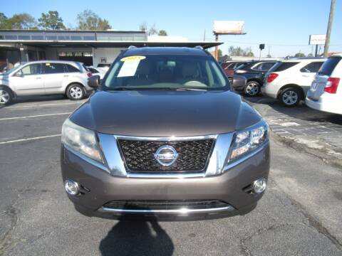 2015 Nissan Pathfinder for sale at Maluda Auto Sales in Valdosta GA