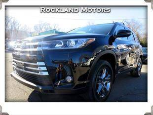 2017 Toyota Highlander Hybrid for sale at Rockland Automall - Rockland Motors in West Nyack NY