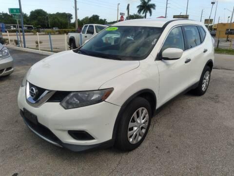 2016 Nissan Rogue for sale at P S AUTO ENTERPRISES INC in Miramar FL