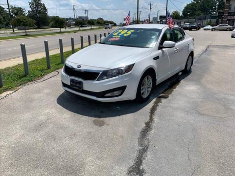 2013 Kia Optima for sale at Kelly & Kelly Auto Sales in Fayetteville NC