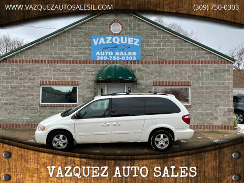 2007 Dodge Grand Caravan for sale at VAZQUEZ AUTO SALES in Bloomington IL