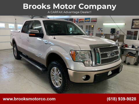 2012 Ford F-150 for sale at Brooks Motor Company in Columbia IL
