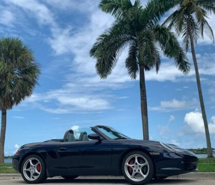 2003 Porsche Boxster for sale at Choice Auto in Fort Lauderdale FL