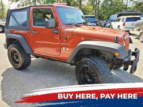 2009 Jeep Wrangler for sale at Rodgers Wranglers in North Charleston SC
