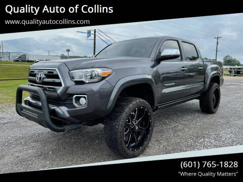 2016 Toyota Tacoma for sale at Quality Auto of Collins in Collins MS