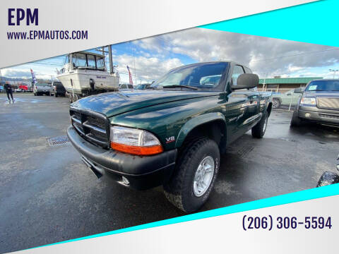 2000 Dodge Dakota for sale at EPM in Auburn WA
