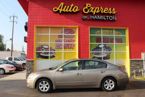 2008 Nissan Altima for sale at AUTO EXPRESS OF HAMILTON LLC in Hamilton OH