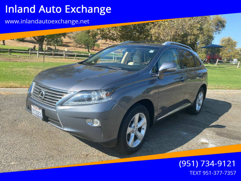 2013 Lexus RX 350 for sale at Inland Auto Exchange in Norco CA