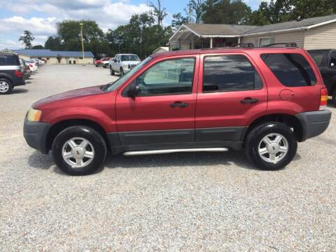 2003 Ford Escape for sale at Space & Rocket Auto Sales in Hazel Green AL