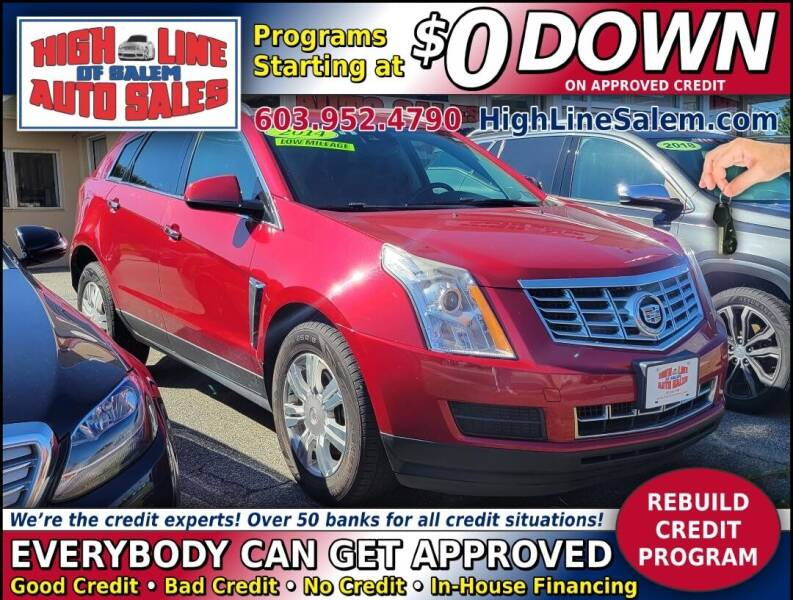 2014 Cadillac SRX for sale at High Line Auto Sales of Salem in Salem NH