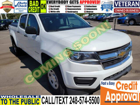 2015 Chevrolet Colorado for sale at North Oakland Motors in Waterford MI