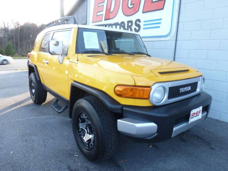 2010 Toyota FJ Cruiser for sale at Edge Motors in Mooresville NC