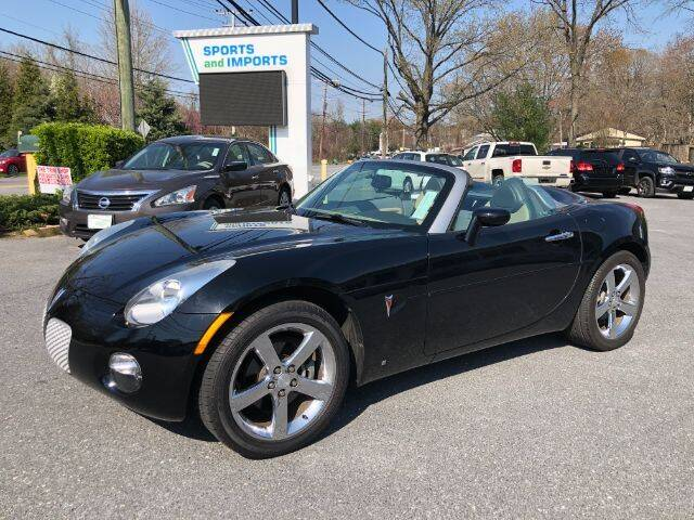 2007 Pontiac Solstice for sale at Sports & Imports in Pasadena MD