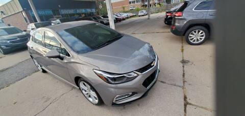 2017 Chevrolet Cruze for sale at Divine Auto Sales LLC in Omaha NE