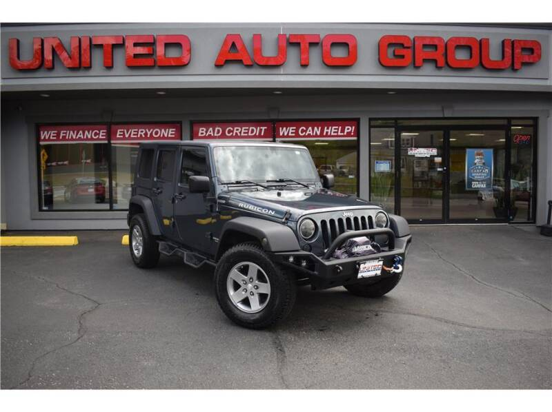 2007 Jeep Wrangler Unlimited for sale at United Auto Group in Putnam CT