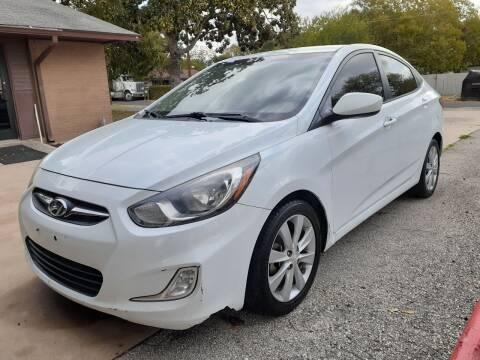 2012 Hyundai Accent for sale at John 3:16 Motors in San Antonio TX