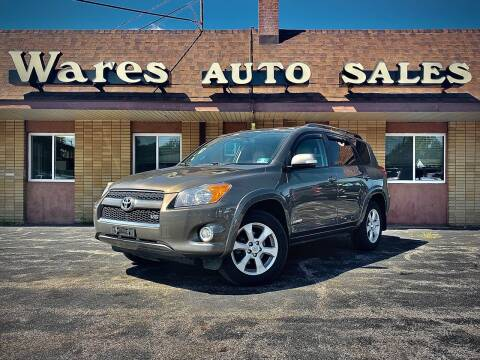 2011 Toyota RAV4 for sale at Wares Auto Sales INC in Traverse City MI