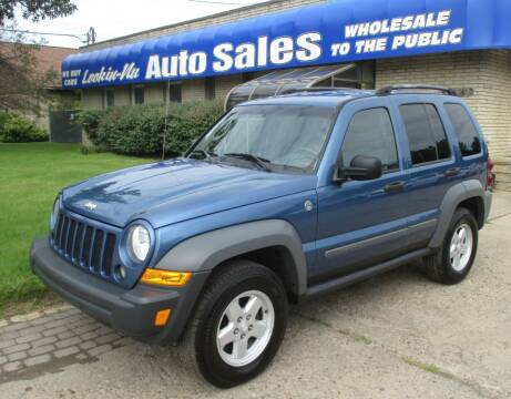 2005 Jeep Liberty for sale at Lookin-Nu Auto Sales in Waterford MI