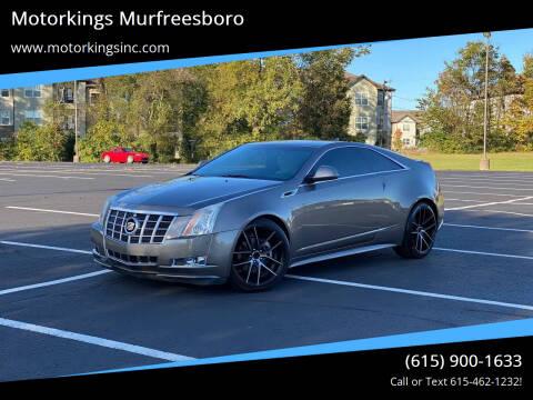 2012 Cadillac CTS for sale at Motorkings Murfreesboro in Murfreesboro TN