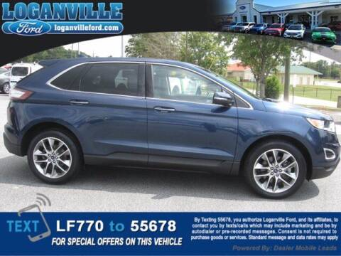 2017 Ford Edge for sale at Loganville Quick Lane and Tire Center in Loganville GA