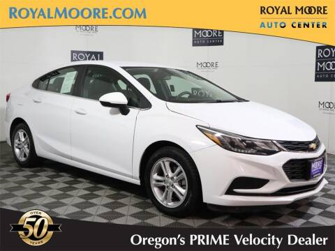 2018 Chevrolet Cruze for sale at Royal Moore Custom Finance in Hillsboro OR