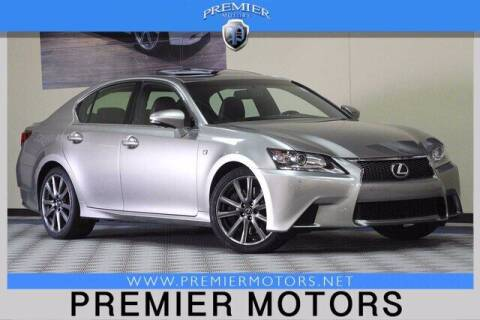 2015 Lexus GS 350 for sale at Premier Motors in Hayward CA