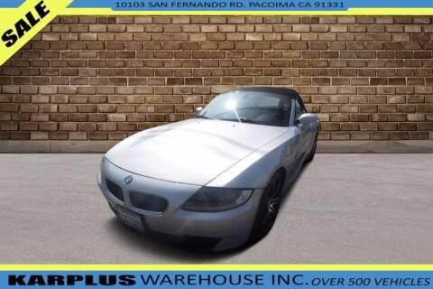 2006 BMW Z4 for sale at Karplus Warehouse in Pacoima CA