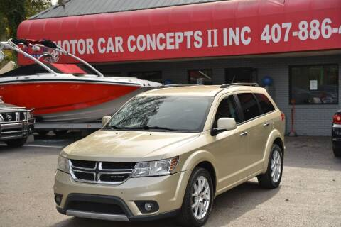 2011 Dodge Journey for sale at Motor Car Concepts II - Apopka Location in Apopka FL