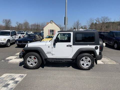 2012 Jeep Wrangler for sale at FUELIN FINE AUTO SALES INC in Saylorsburg PA
