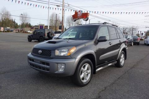 2003 Toyota RAV4 for sale at Leavitt Auto Sales and Used Car City in Everett WA