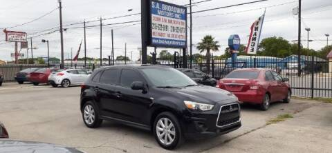 2014 Mitsubishi Outlander Sport for sale at S.A. BROADWAY MOTORS INC in San Antonio TX